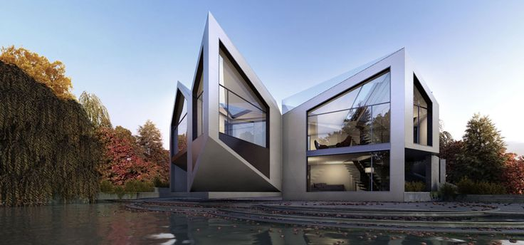 Dynamic moving house, rotates to follow the sun
