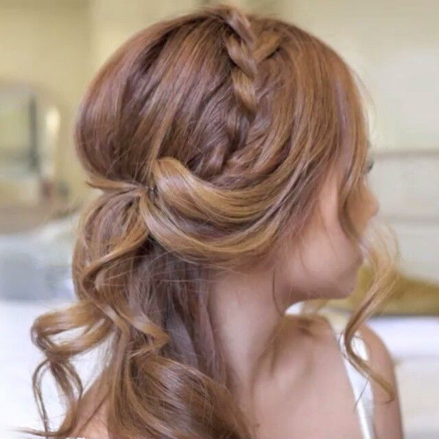 Press ▶ Half updo  ☆Song: Don't Need [Luke Williams] #cinthiatruong #hairandstyles #hairtutorial