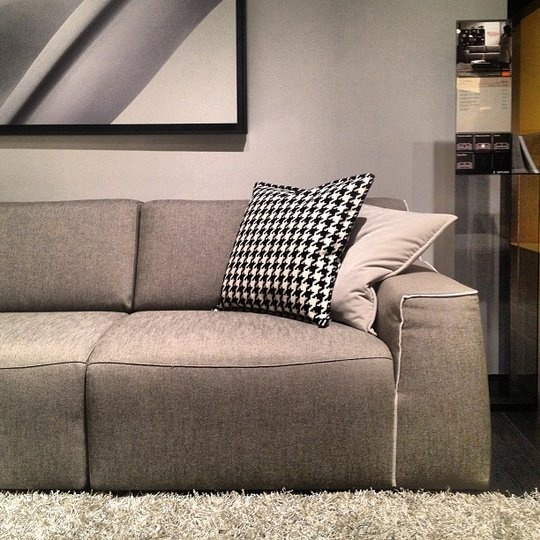 Soft Tailored Sofa at Natuzzi High Point Spring Market 2013 #Spring #HPMKT2013 #ApartmentTherapyFind