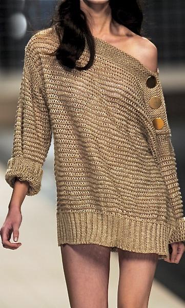 Sweater detail
