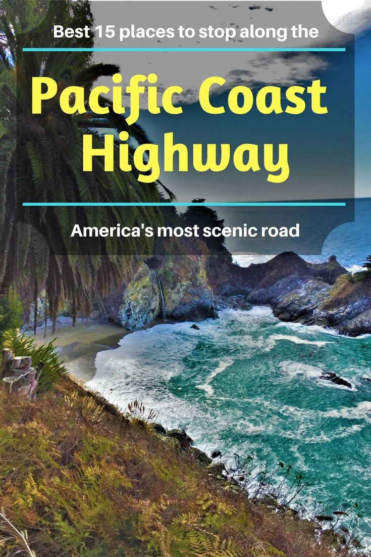 Pacific Coast Highway| the most beautiful road in the US | Stops along the Pacific Coast Highway | California 1| Pacific Hway | Santa Barbara | San Francisco | Los Angeles | Santa Monica | San Diego | Santa Cruz | Big Sur |