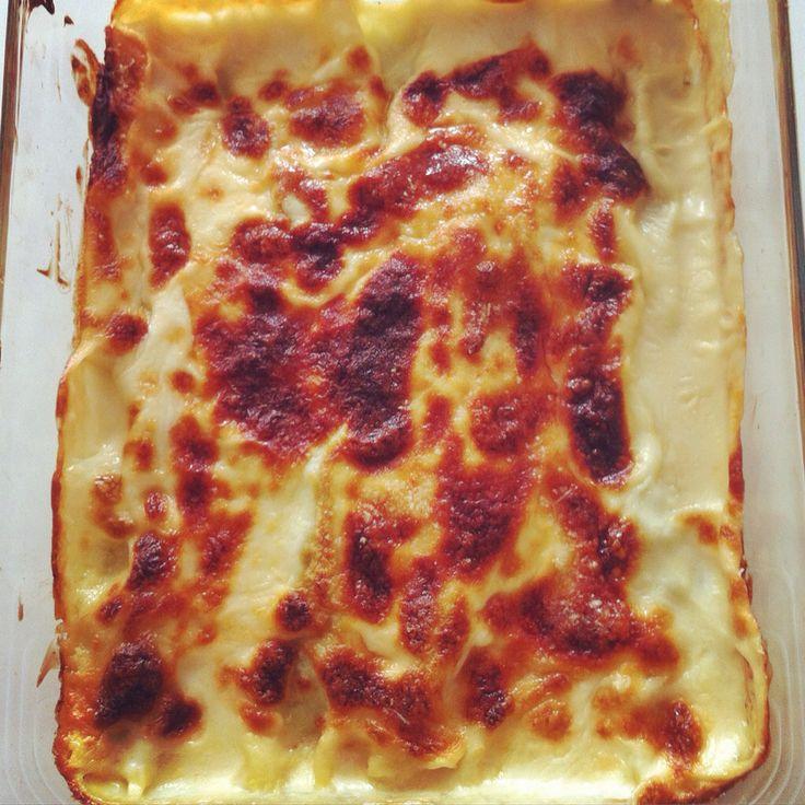Cannelloni di magro - ricotta e spinaci