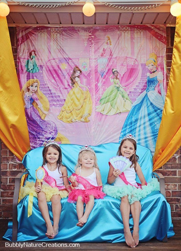 Disney Princess Party | Disney princess party, Disney