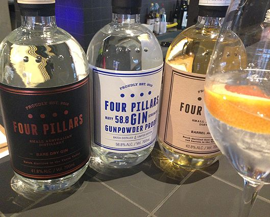 The three Four Pillars releases.