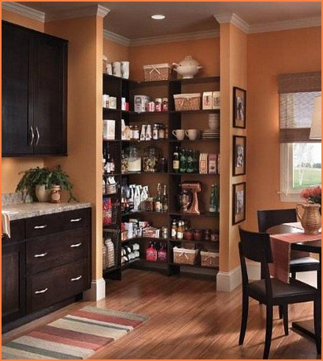 Corner Kitchen Pantry Cabinet 1000 Ideas About Freestanding On Pinterest