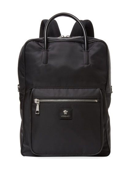 Medium Square Backpack by Versace at Gilt