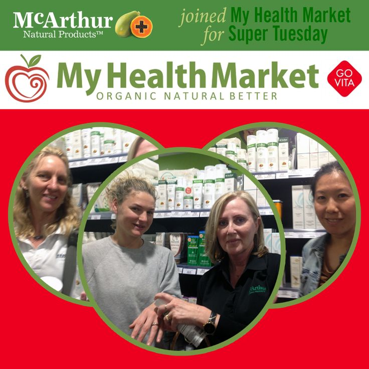 My Health Market Midland  Our WA Sales Consultant Janice French represented McArthur Natural Products for Super Tuesday at My Health Market Midland store this week. Great to see many friendly faces and consumers of McArthur Natural Products in-store to hand out brochures and discuss the product range.  #mnp #mcarthurnaturalproducts #myhealthmarket