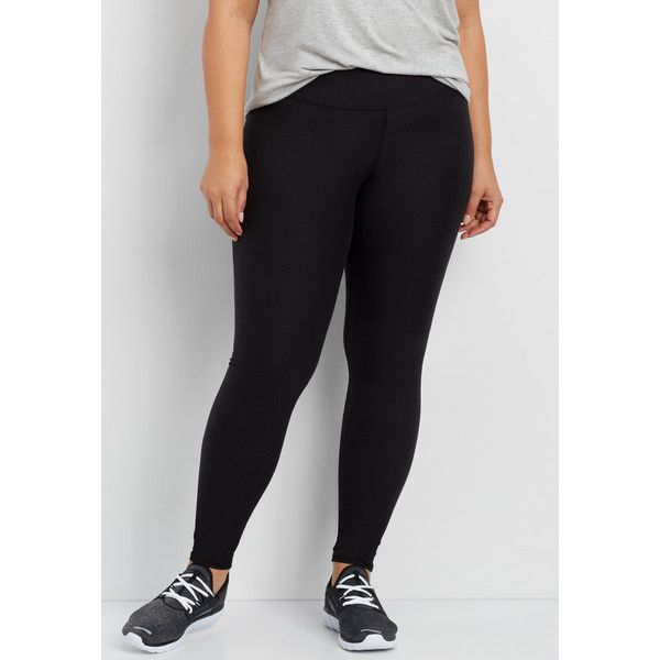 maurices Plus Size - Active Legging, Women's, ($24) ❤ liked on Polyvore featuring activewear, activewear pants, plus size, plus size sportswear, plus size activewear pants, women's plus size activewear, maurices and plus size activewear
