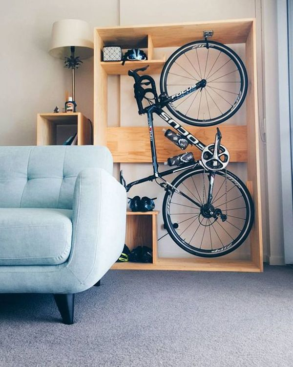 25 Brilliant Ways To Store Your Bikes In Small Space Bike