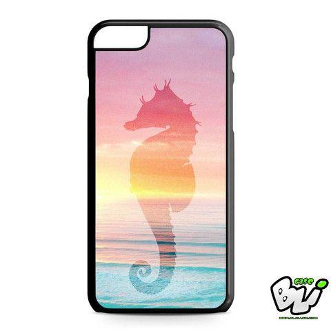 Sea Horse The Ocean Sillohuette iPhone 6 Plus | iPhone 6S Plus Case