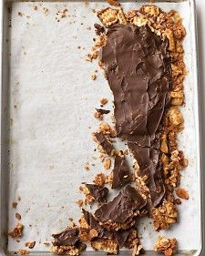 This crunchy-sweet treat is perfect for Passover -- and so good, you'll crave it all year!: Chocolate, Everyday Food, Jewish Holiday, Martha Stewart, Matzo Toffee, Treat, Passover Recipes, Toffee Recipe
