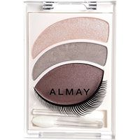 Almay Eyeshadow Trio Smoky: Smoky Green. I couldn't even grind the color from the pallet to my lids. It was terrible.