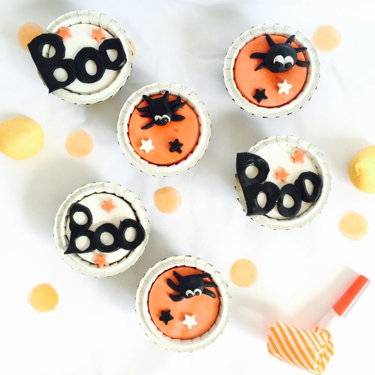 {Food} Les cupcakes surprises d'Halloween!