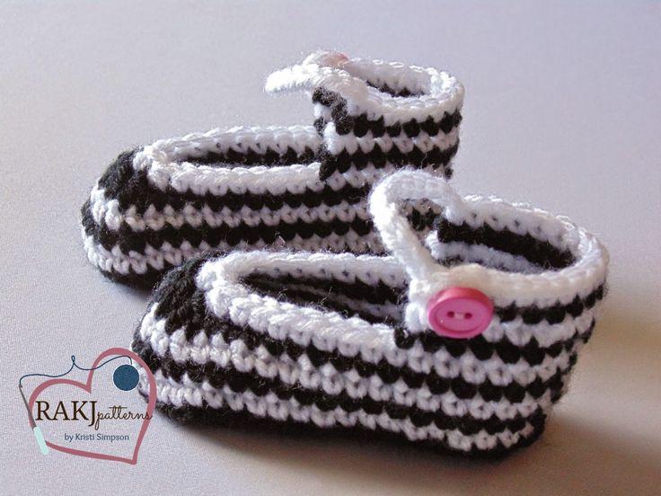 Free Crochet Pattern For Vans Slippers : 100 beste afbeeldingen over Babyspullen gehaakt op Pinterest