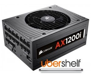 CORSAIR Professional Series Platinum AX1200i 1200W Power Supply