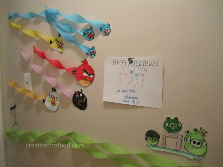 Creative Food: Angry Birds Birthday Party Ideas-The Wall Deco