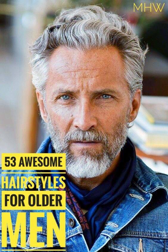 53 Magnificent Hairstyles For Older Men Older Mens