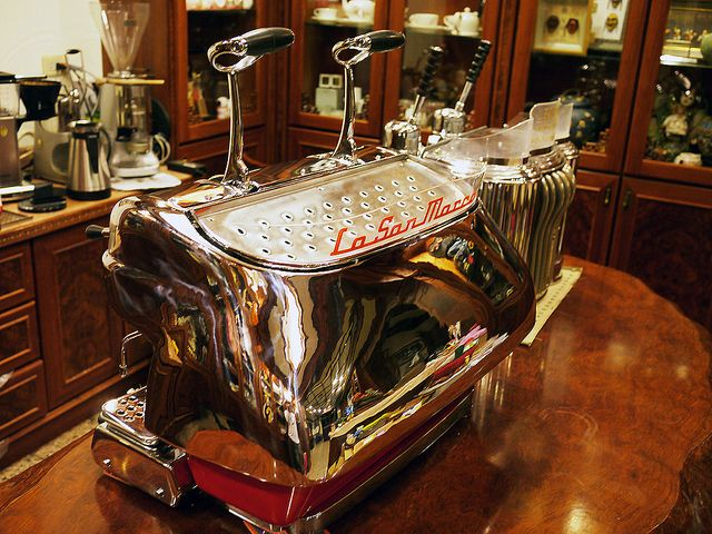 23 best images about vintage espresso machines on pinterest. Black Bedroom Furniture Sets. Home Design Ideas