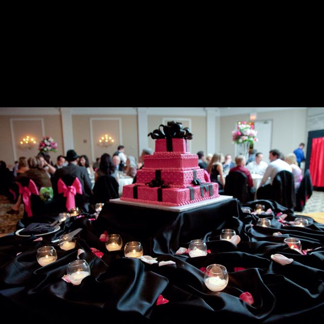 92 best Pink and black wedding ideas images on Pinterest | Hot ...