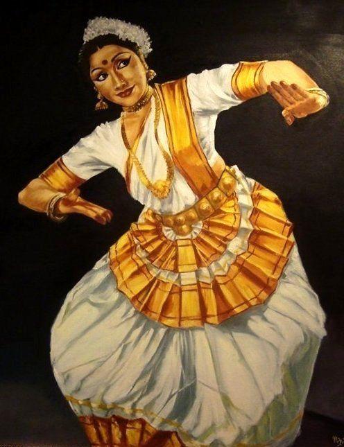 Mohiniyattam Nritta Painting