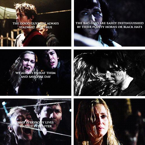 Lie to me. #the100