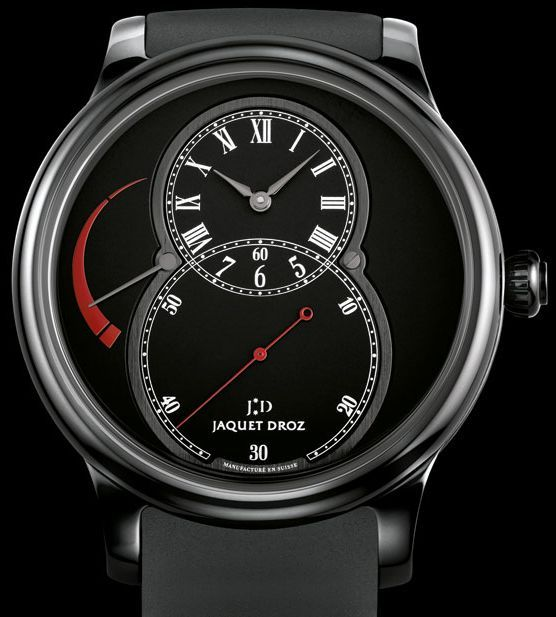 Suave Looking Jaquet Droz Ceramic Power Reserve Watch   jaquet droz