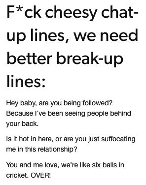22 Tumblr Posts About Break-Ups That Are Funny, Painful, And True