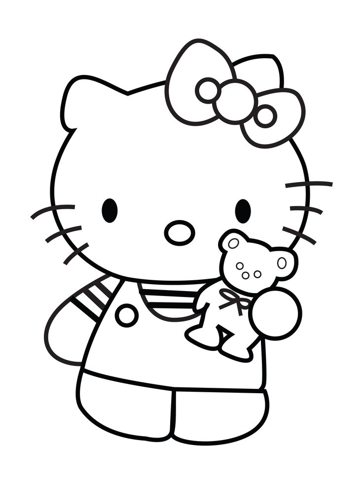 Hello Kitty Gymnastics Coloring Pages : Best hello kitty images on pinterest