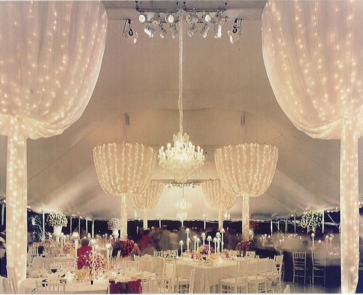 17 best ideas about party tent decorations on pinterest for Indoor marquee decoration
