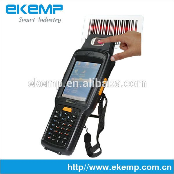 Handheld Android PDA/LF HF RFID Card Reader/Barcode Scanner