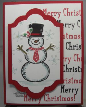 Snow Place, Lots of Labels Framelits, Snow Friends Framelits, hand made cards by Stampin' Up!, Christmas Cards,