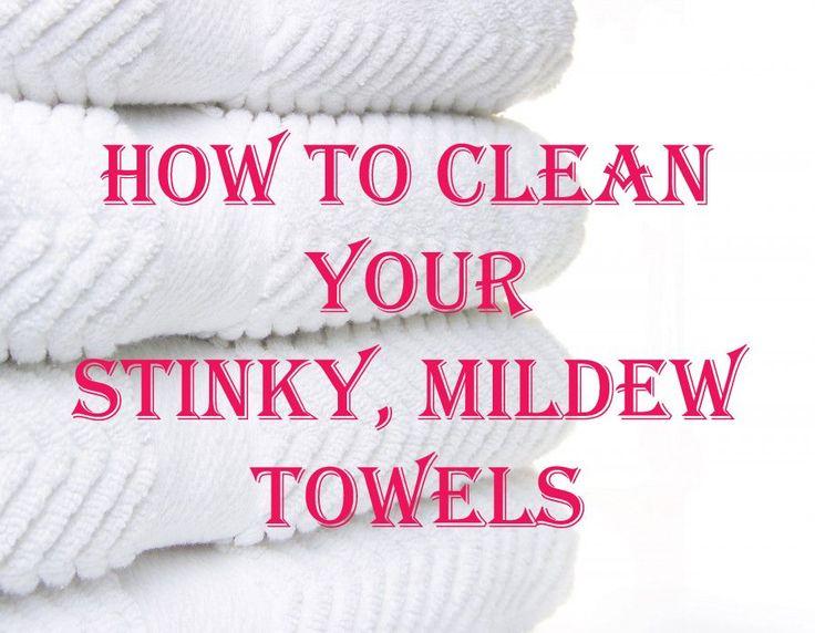 Easily De-Funk Your Bath Towels - MyThirtySpot