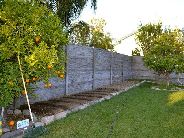 17 Best ideas about Concrete Fence on Pinterest Modern
