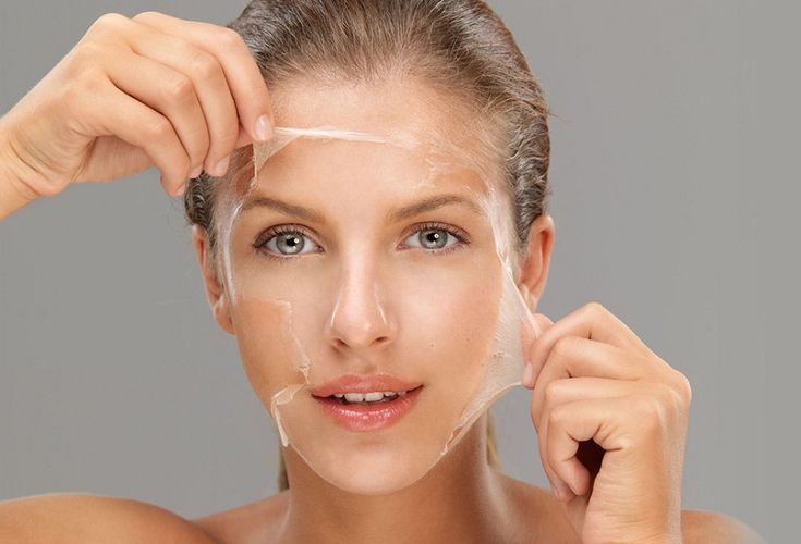 маска из желатина для лица