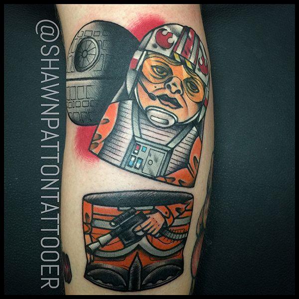 228 best inked star wars images on pinterest star wars for Luke skywalker tattoo