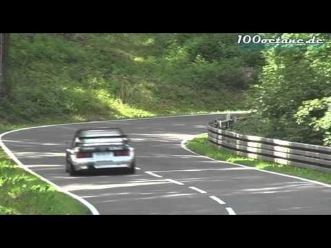 AMG Mercedes 190E Evo 2 DTM  Markus Wüstefeld behind the wheel.