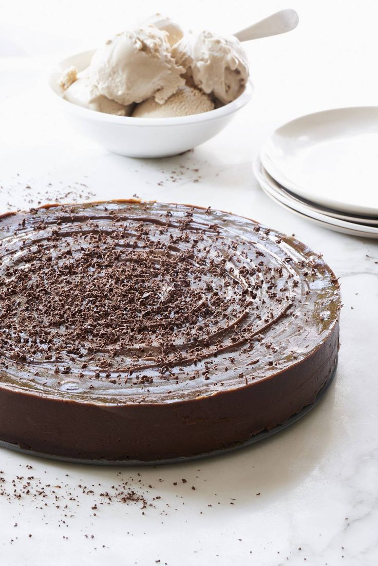 This raw vegan chocolate espresso torte cake takes less than 15 minutes to throw together in your KitchenAid® Pro Line® Series Blender.