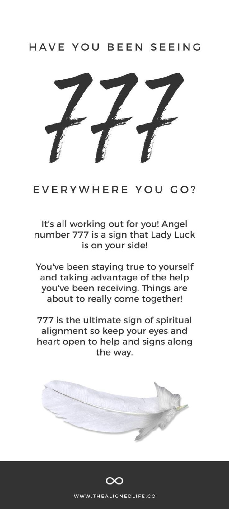 How To Manifest With Angel Numbers: What Do They Mean? - The Aligned Life |  Angel number 777, Angel numbers, Angel number meanings