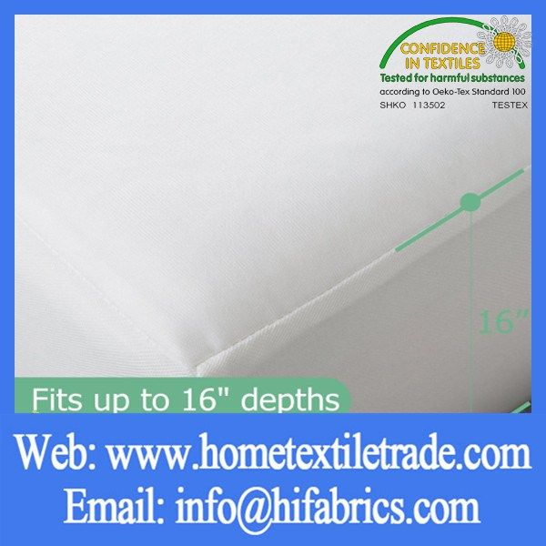 white waterproof hospital bed mattress hotel bed bug mattress cover in mount isa - Mattress Covers For Bed Bugs