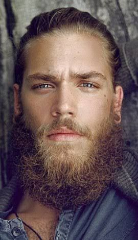 Image result for man bun and beard suit