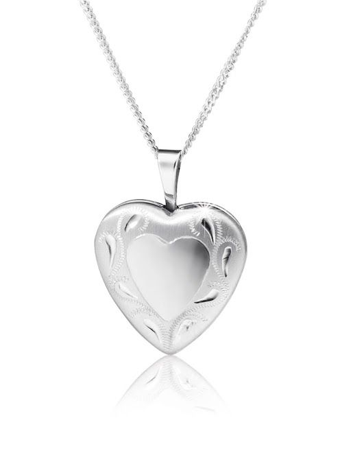 Silver Locket Pendant With Free Chain R598  *Prices Valid Until 25 Dec 2013