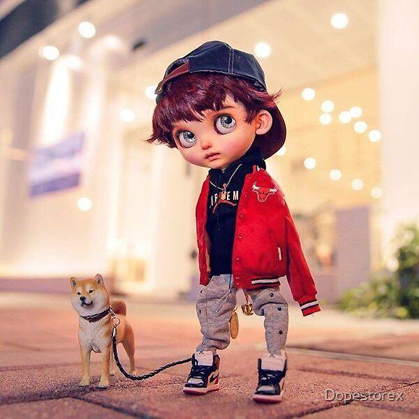 Cute 3d Cartoon With A Pet Dog Cute Cartoon Girl Cute Love Cartoons Cute Cartoon Boy