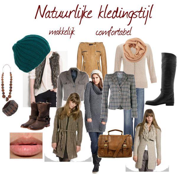 Natuurlijke kledingstijl, comfortabel en makkelijk, sportieve kleding
