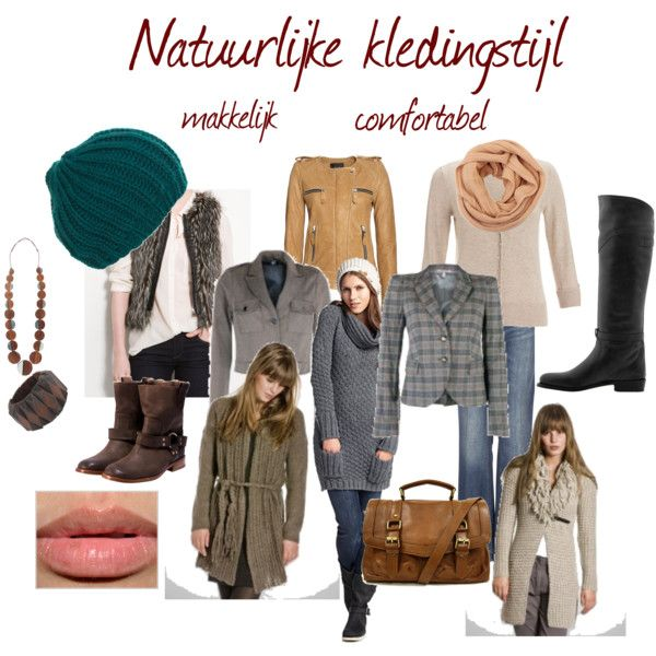 """Natuurlijke kledingstijl"" by justbeautiful on Polyvore"
