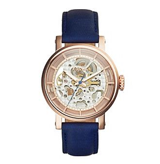 Fossil® Women's Original Boyfriend Automatic Watch In Rose Goldtone