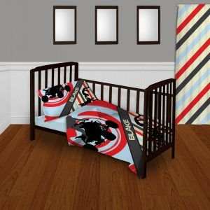 Baby Boy Motocross Crib Bedding