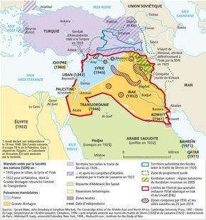Du découpage de l'Empire ottoman aux projets des djihadistes, par Agnès Stienne (Le Monde diplomatique, juillet 2014)