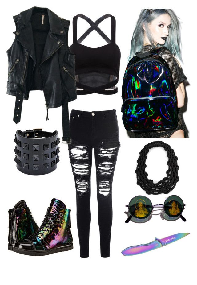 """""""Come Fight Me IRL"""" by postpunkfaery on Polyvore"""