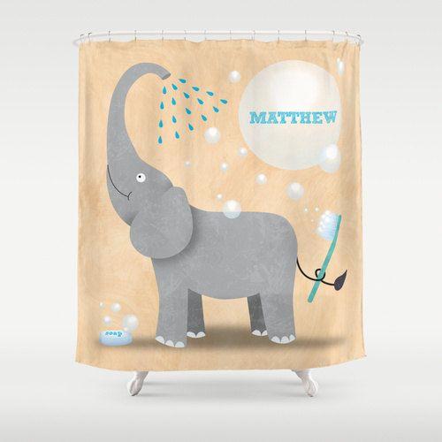 Kids Safari Bathroom Set: 17 Best Ideas About Elephant Shower Curtains On Pinterest