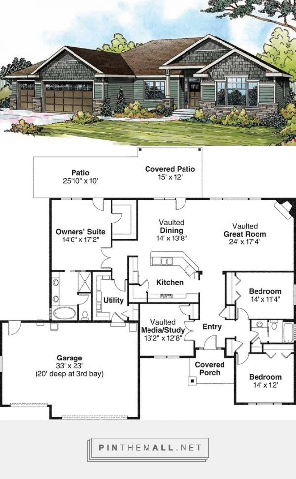 Pin by Sonja son on House plans in 2019 | Rambler house ... Rambler House Ranch Floor Plan on 50s house plans, best rambler home plans, ranch home plans with open floor plans, luxury ranch style floor plans, house floor plans, favorite ranch floor plans, ranch style floor plans for empty nesters, small ranch floor plans, simple ranch floor plans, split level floor plans, french country floor plans, rambler house plans,